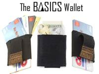 BASICS: Slim Minimalist Wallet with easy access to all Cards