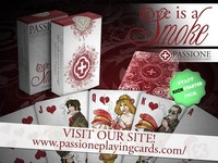 Love is a Smoke - Playing Cards