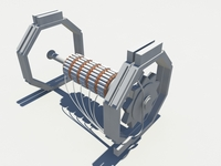 Self Sustaining Electrical Turbine Generator