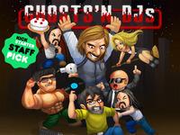 Ghosts 'n DJs: EDM retro arcade lampoon.