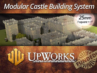 UpWorks: Ultimate Modular Miniature Castle Building System!