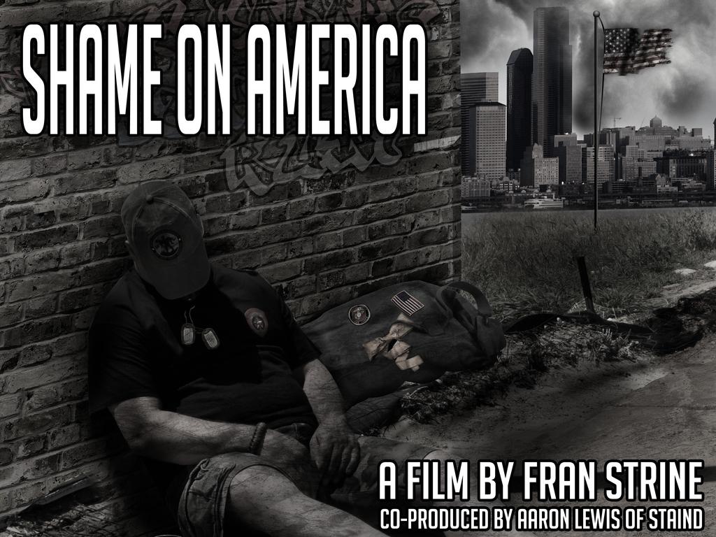 Shame on America's video poster