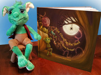 The Ghoul on the Stool™: Childrens Book and Guardian Ghoul