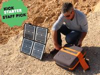 KaliPAK is a portable, renewable energy generator