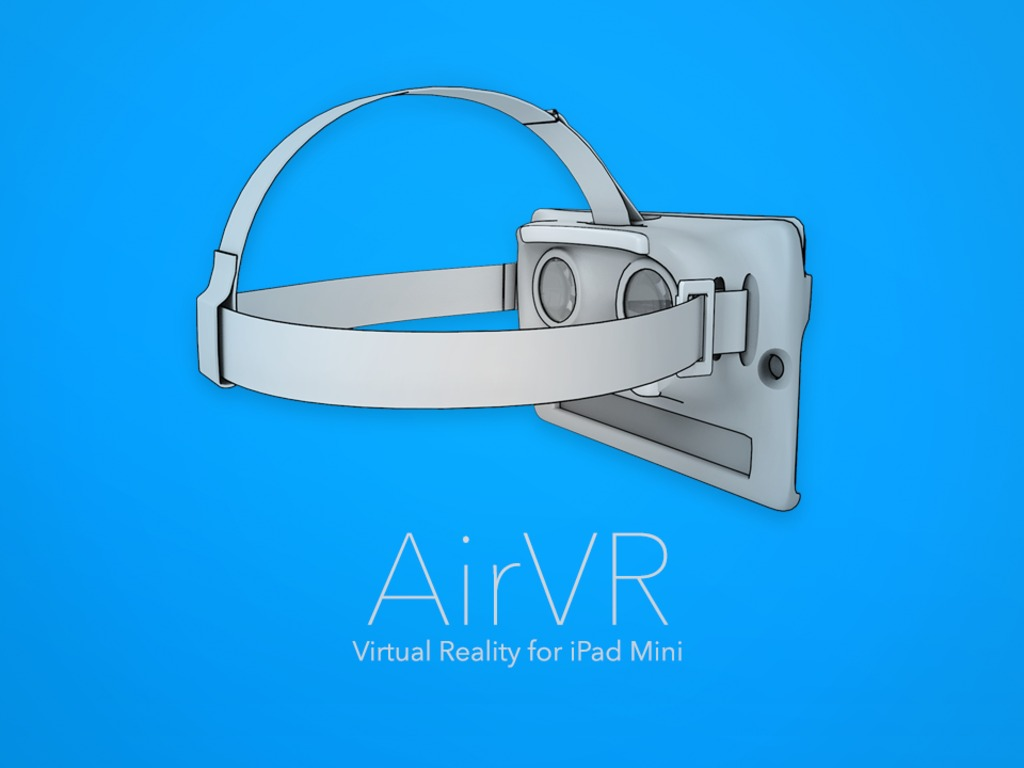 AirVR headset voor iPad Mini