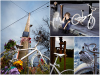 Ghost Bike: A Photographic Journey by Genea Barnes-THE BOOK