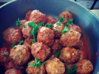 Domenico's meatballs