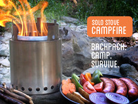 Solo Stove Campfire - Backpack. Camp. Survive.