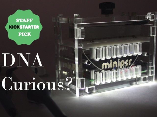 miniPCR: A DNA Discovery System for Everyone's video poster