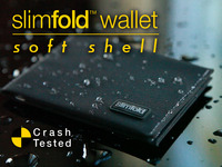 SlimFold Wallet Soft Shell: 70mph Crash-tested Durability