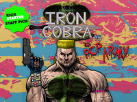 Codename: Iron Cobra vs the PCP Army Issue #1