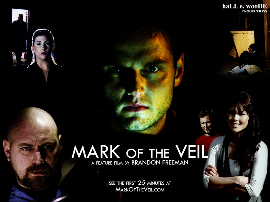 MARK OF THE VEIL, a feature film by Brandon Freeman's video poster