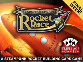 Rocket Race: A Steampunk Rocket Building Card Game by Triple Ace Games Ltd — Kickstarter