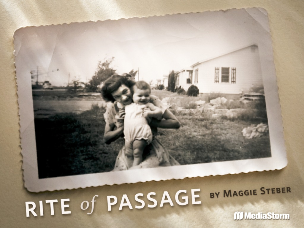 Rite of Passage's video poster