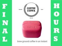 Coffee Cuppa, brew ground coffee in an instant