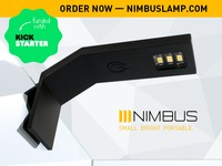 NIMBUS: ultra-functional LED lamp that fits in your pocket
