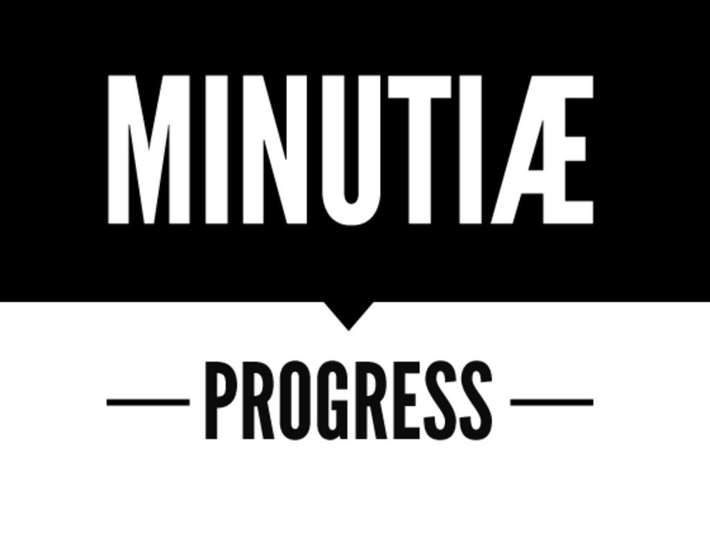 Minutiæ#5 'Progress''s video poster