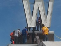 """West High School's Historic """"W"""" Project...Let's Light it Up!"""