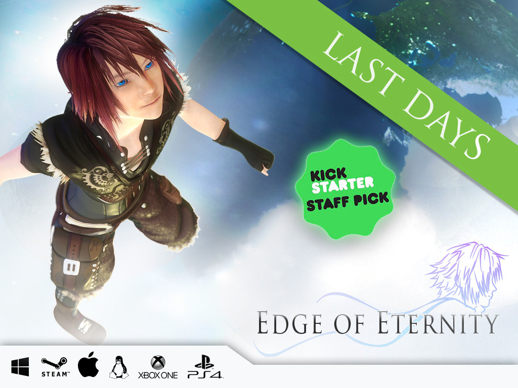 Edge Of Eternity (Pc, Mac, Linux, PS4, XBOX ONE)'s video poster