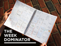 The Week Dominator: A beautiful canvas to tackle goals