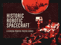 Historic Robotic Spacecraft Poster Series