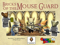 Bricks of the MOUSE GUARD for your Miniature Figures