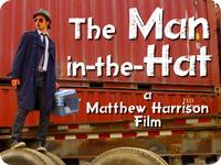 "Matt Harrison's new ""film noir"" thriller The Man-in-the-Hat"