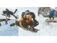 AXS Snoogee Board: Snowboarding & Bodyboarding combined