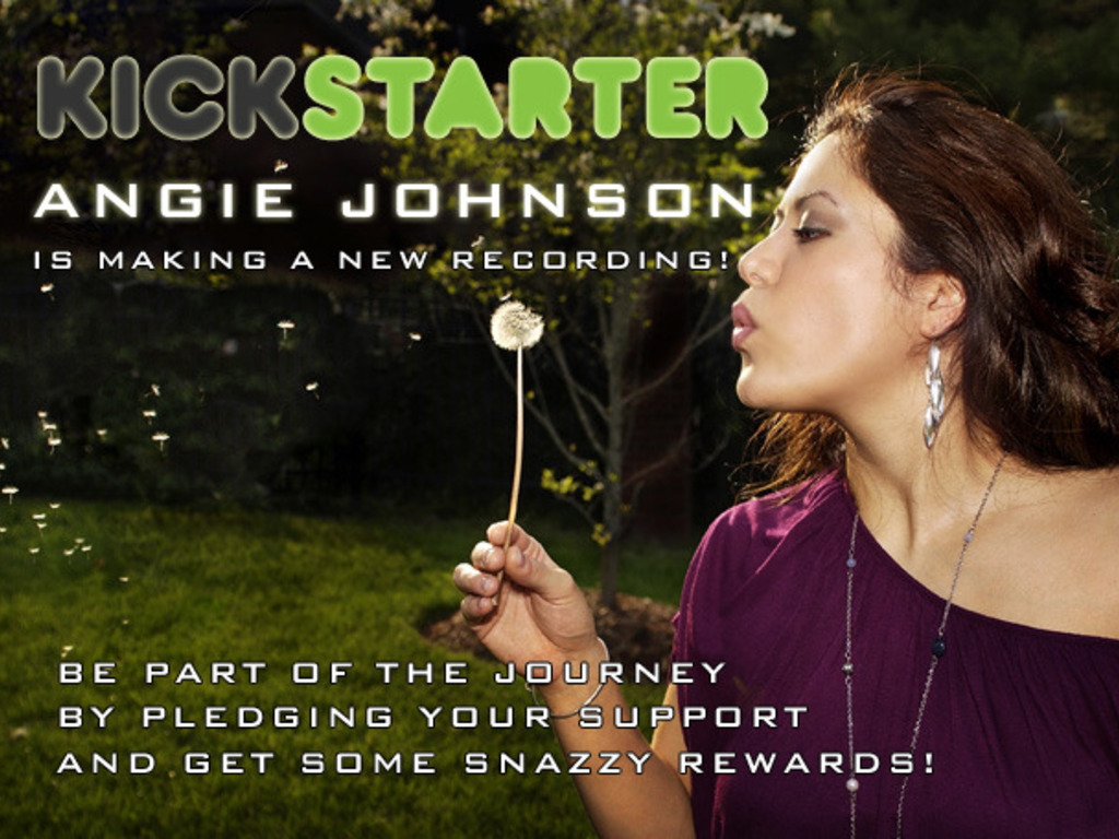 Help Angie Johnson of The Voice Make a Recording!'s video poster