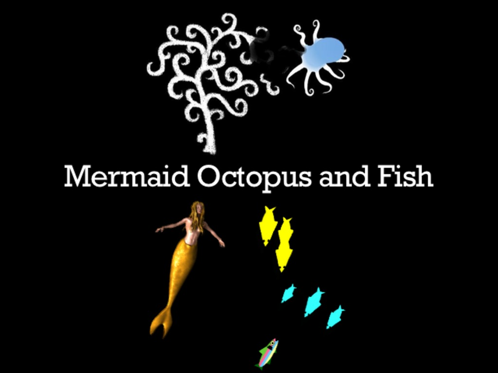 Mermaid Octopus and Fish's video poster