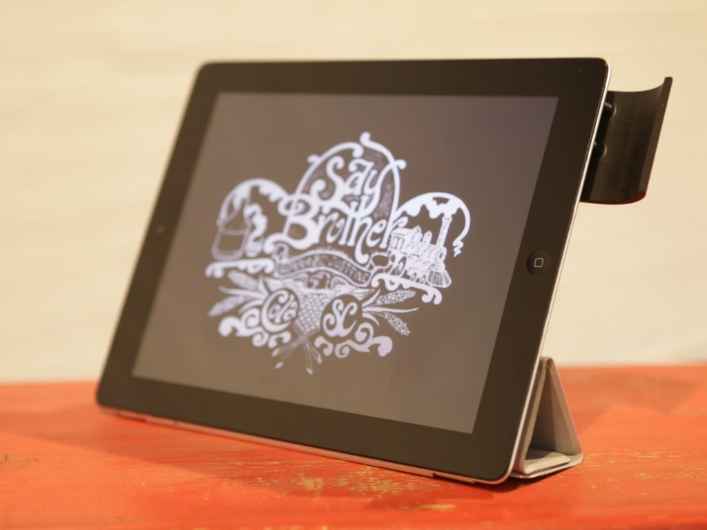 The Boast: A sound reflector for the iPad 2 and new iPad.'s video poster