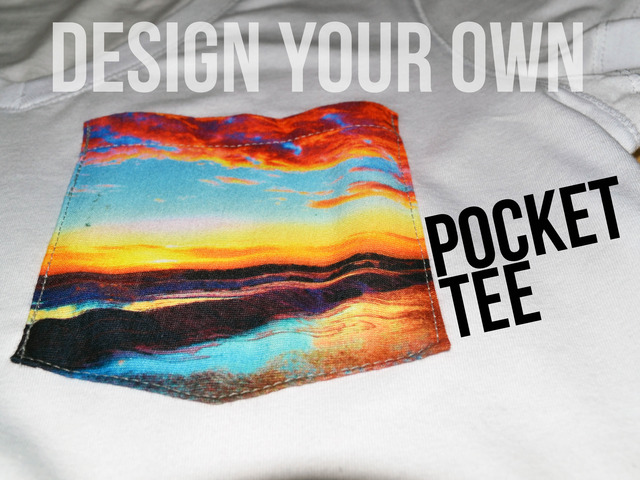 Design custom made pocket t-shirts online. Free shipping, bulk discounts and no minimums or setups for custom made pocket tees. Free design templates. Over 10 million customer designs since
