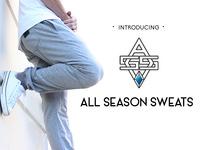 All Season Sweats™ - A New Type of Sweat Pant