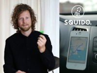 Squido - the invisible phone holder