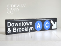 New York City Replica Subway Signs - Sideway Signs Co.