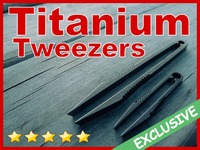 TiTweezers™: World's Sexiest And Safest Titanium Tweezers