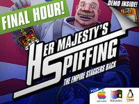 HM SPIFFING - a comedy 3D space themed adventure game