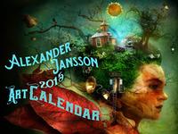 Alexander Jansson 2015 Art Calendar