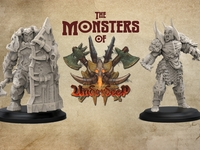 Minion Miniatures - The Monsters of Underdeep