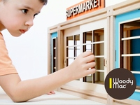 WoodyMac - Magnetic Building Blocks