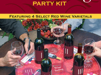 Mingle-Vine Wine Bottle Carrier / Tasting Board Game & App