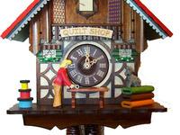 Quilt Shop Cuckoo Clock #2