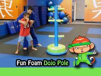 Fun Foam Dojo Pole