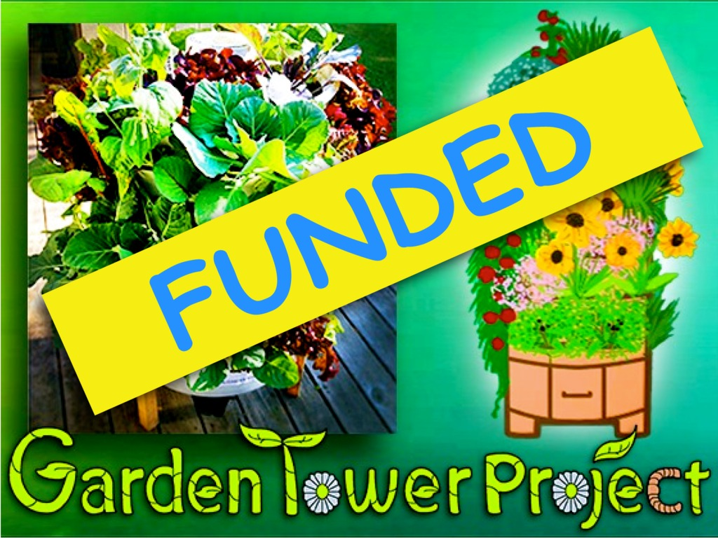 GARDEN TOWER: Composting + 50 Plants = Real Food Anywhere.'s video poster