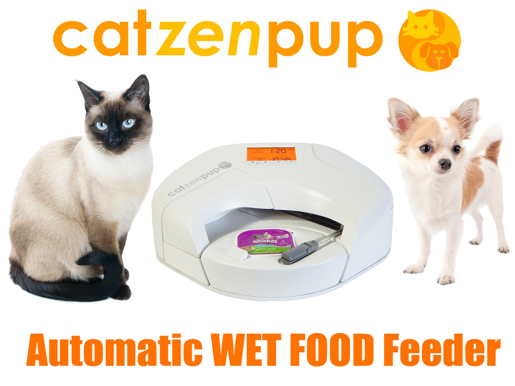 Automatic Dog Feeder For Wet Food