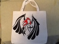 HAND DRAWN TOTES, JEANS, AND TSHIRTS