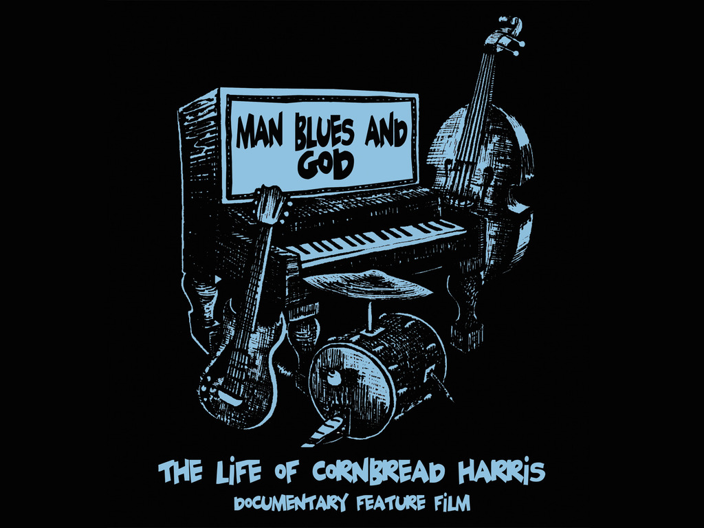 Man, Blues & God - The Life of Cornbread Harris Documentary Feature Film's video poster