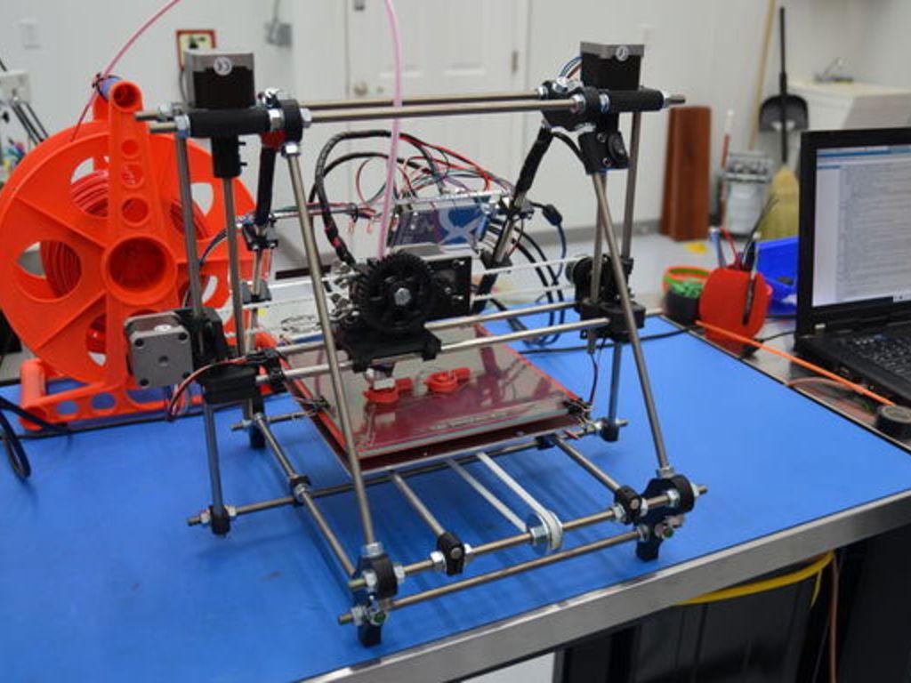 The RepRap Project: Self Replicating DIY 3D Printer's video poster