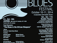 BEAREATHER'S 9TH ANNUAL BIG EYED BLUES FEST, OCT 10-11, 2014