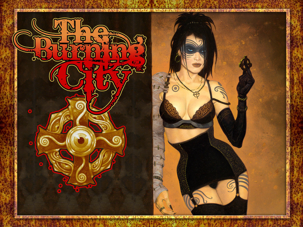 The Burning City: A Dark Fantasy Tour De Force's video poster